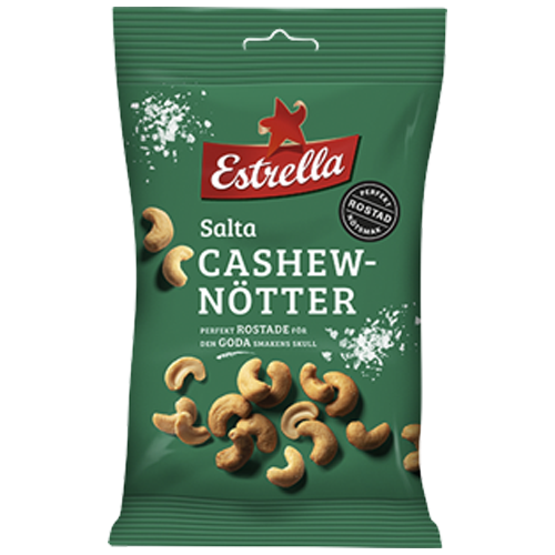 Estrella Salta Cashewnötter 150g