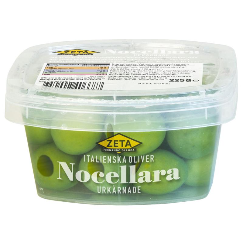 """Oliver """"Nocellara"""" Urkärnade 225g - 50% rabatt"""