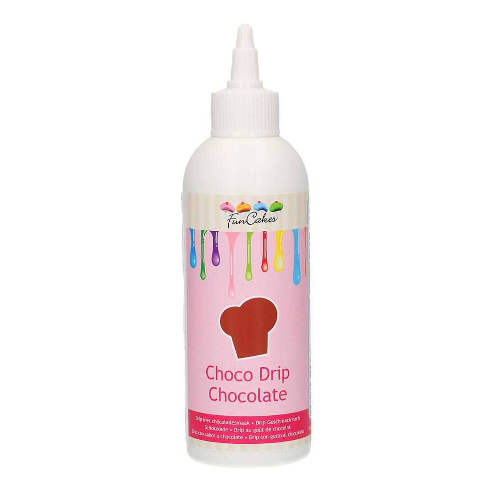FunCakes Choco Drip Chocolate/Choklad - 180 g