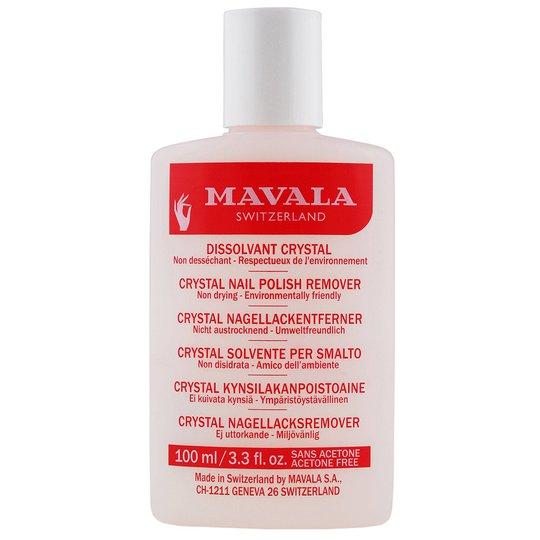 Crystal Nail Polish Remover, 100 ml Mavala Kynsilakan poisto