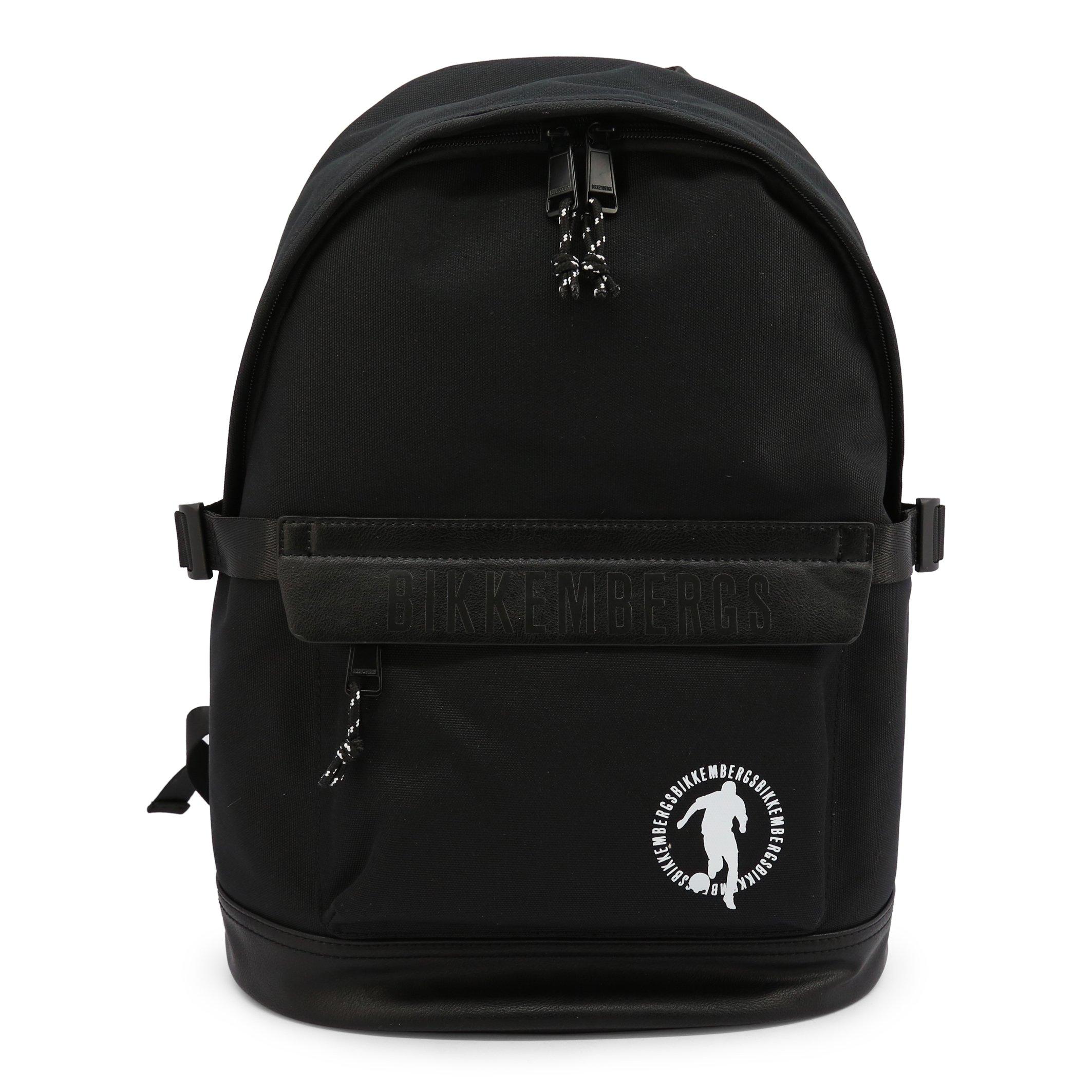 Bikkembergs Men's Backpack Various Colours E2BPME1M0035 - black NOSIZE