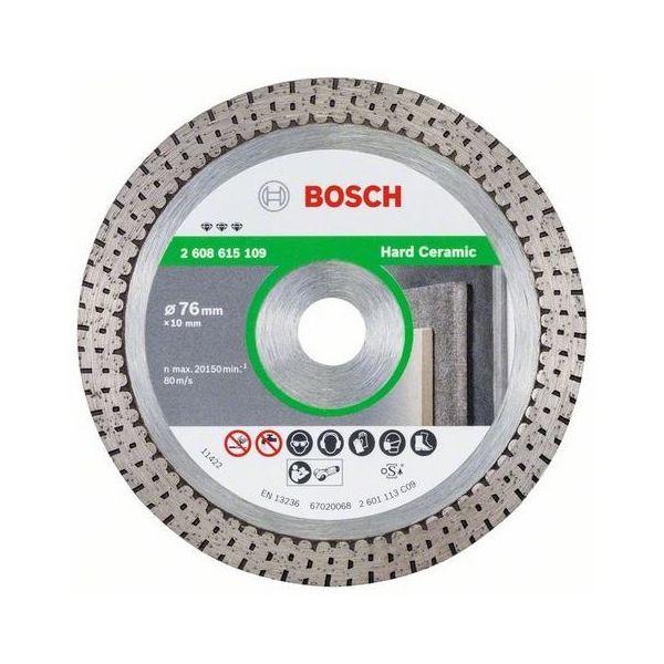 Bosch Best for Hard Ceramic Diamantkappskive 76x10mm