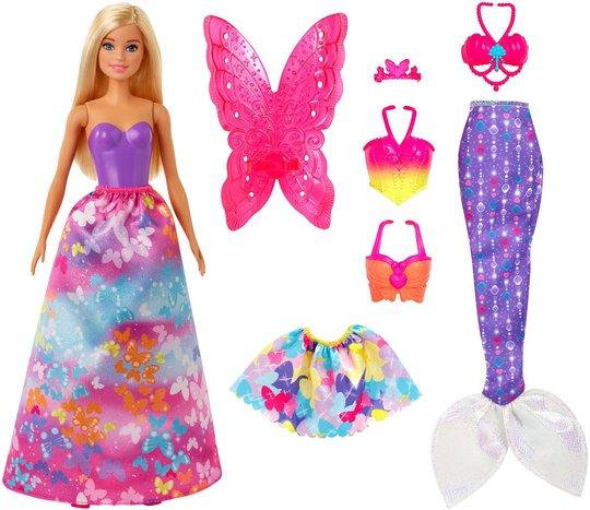 Barbie Dreamtopia Dukke med Klessett