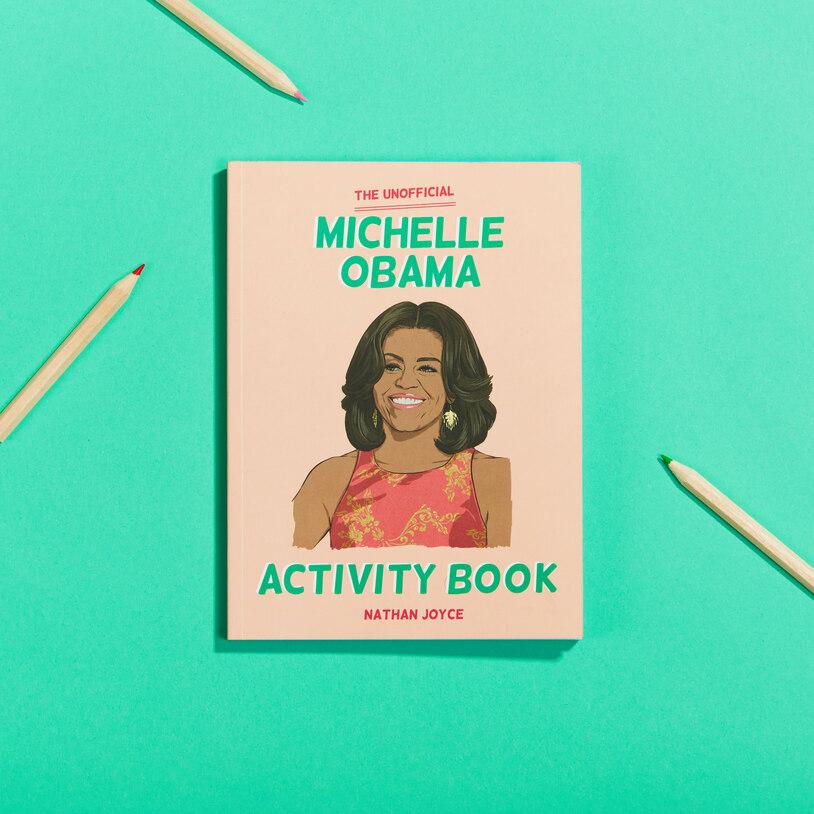 Michelle Obama Activity Book (22471)