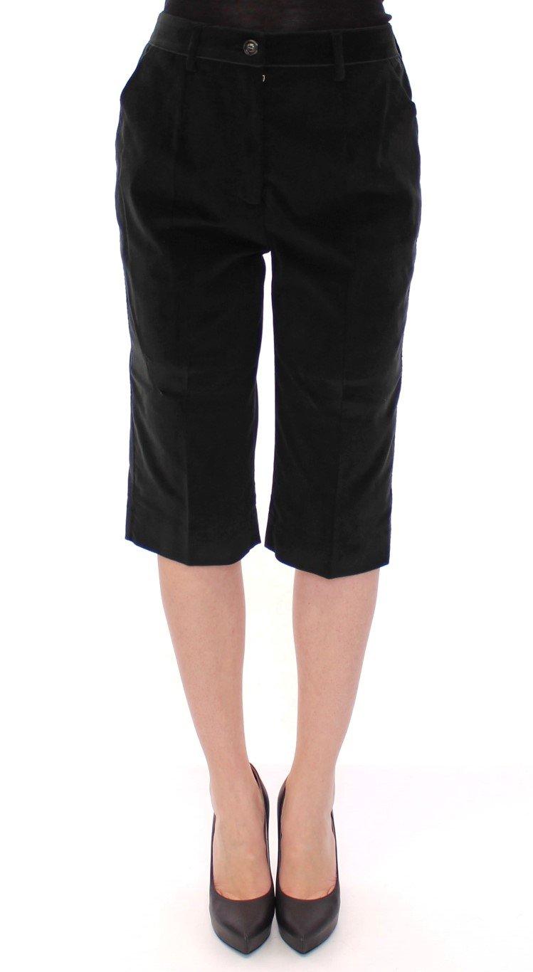 Dolce & Gabbana Women's Cotton Short Black GSS11728 - IT38|XS