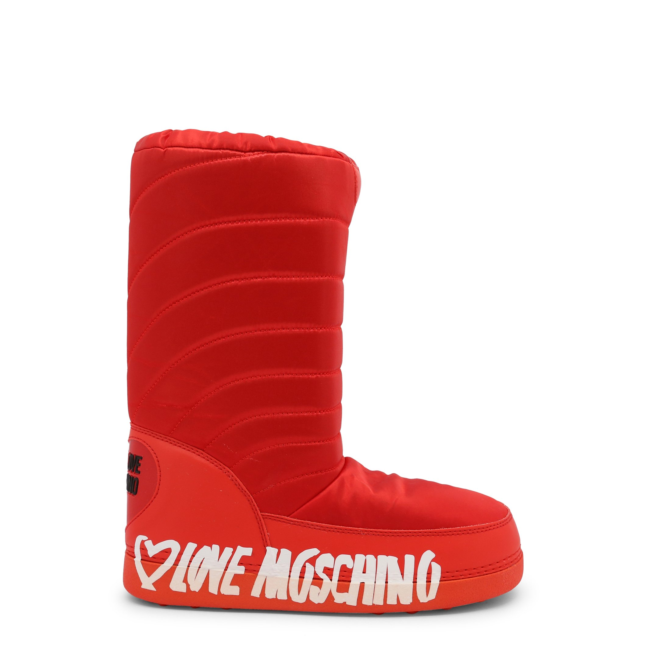 Love Moschino Women's Ankle Boot Various Colours JA24132G1DISK - red EU 35