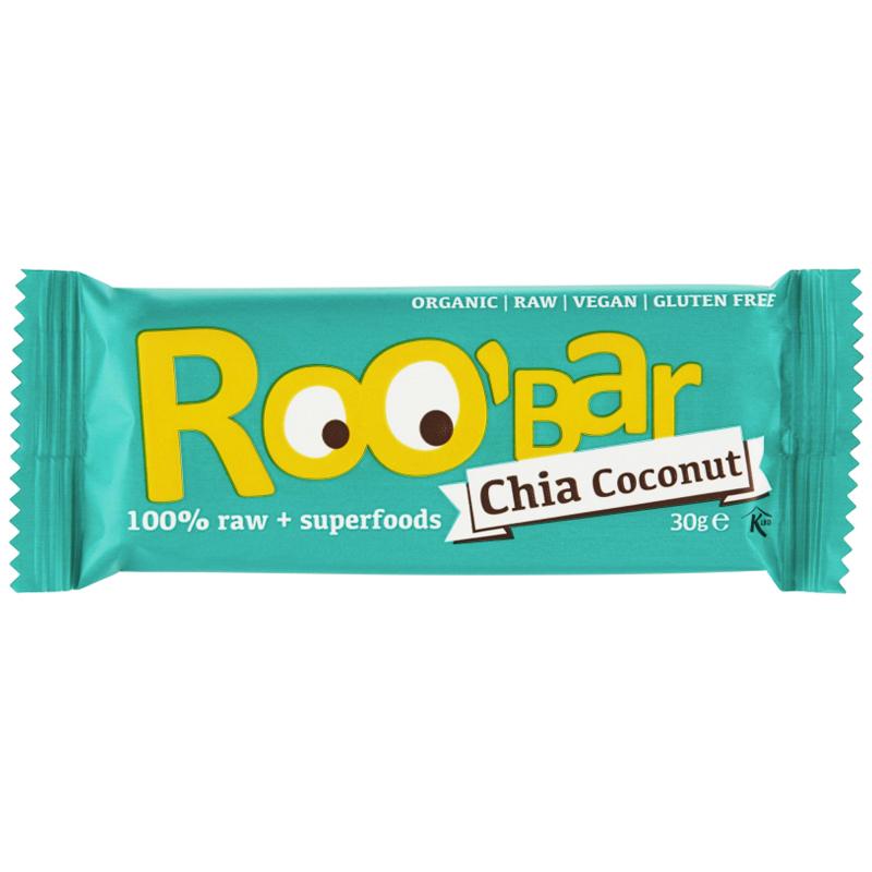 """Rawbar """"Chia & Coconut"""" 30g - 56% rabatt"""