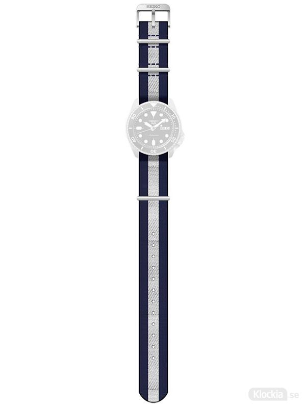 SEIKO 5 Sports Strap Navy/White/Navy SP19073H