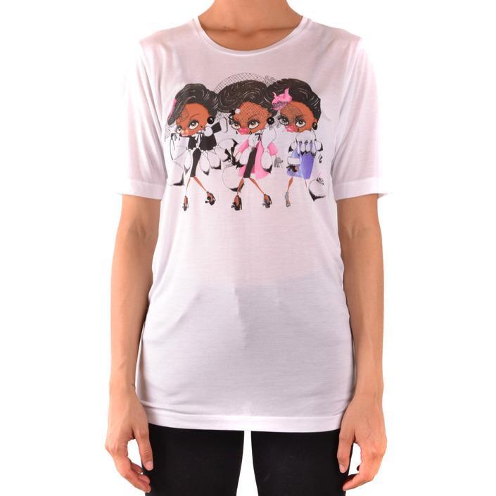 Dsquared Women's T-Shirt White 167479 - white M