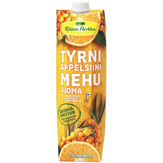 Mehujuoma Tyrni & Appelsiini - 45% alennus