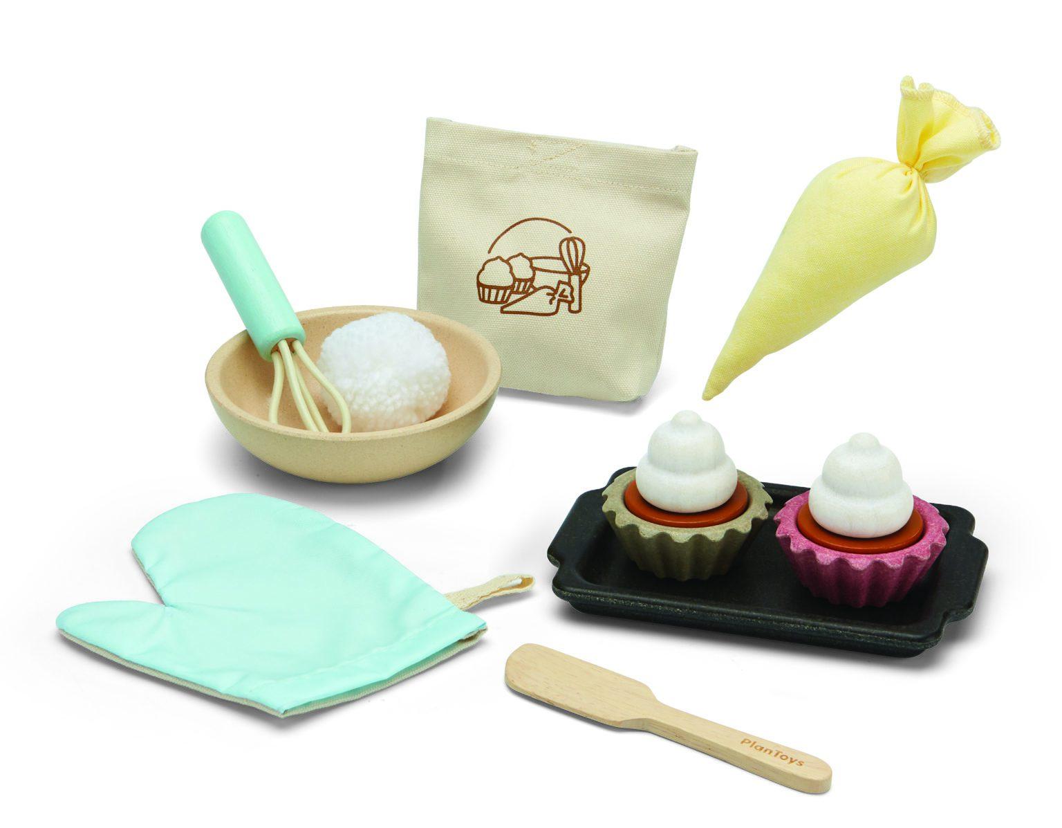 Plantoys - Cupcake set (3626)