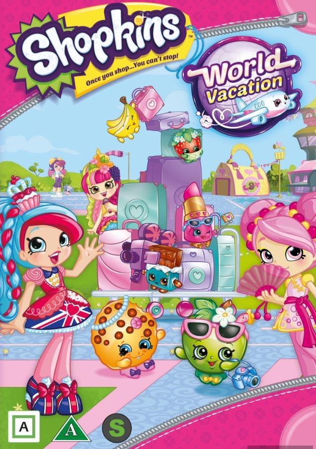 Shopkins: World Vacation - DVD
