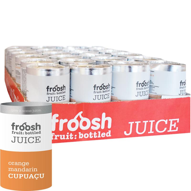 Juice Apelsin, mandarin & cupacu - 50% rabatt