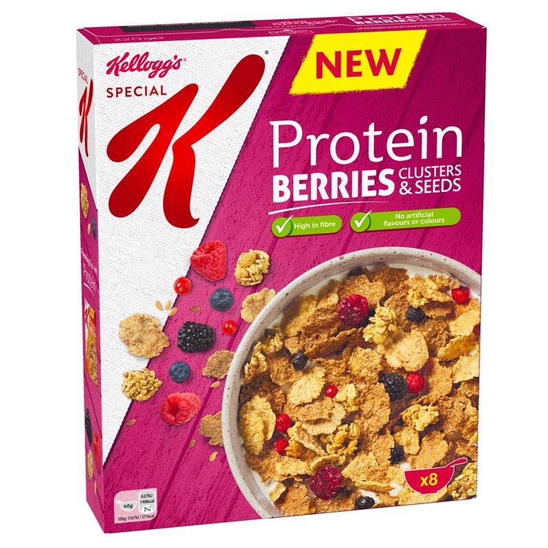 Aamiaishiutaleet Protein Berries - 40% alennus