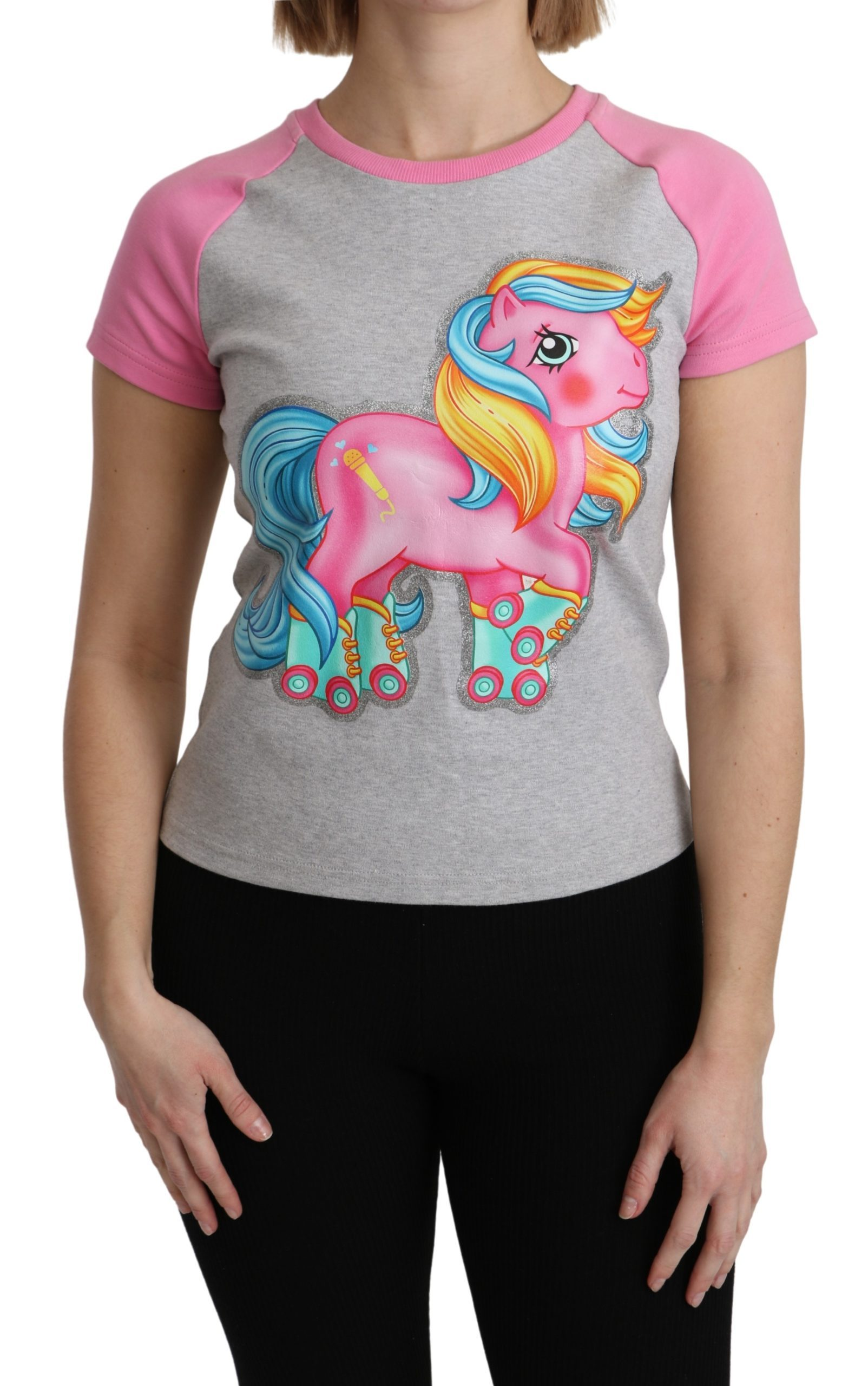 Moschino Women's Cotton My Little Pony Top Multicolor TSH5088 - IT36 | XS