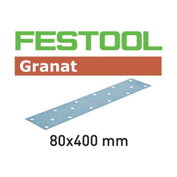 Festool STF GR Hiomapaperi 80x400mm 50 kpl. P40