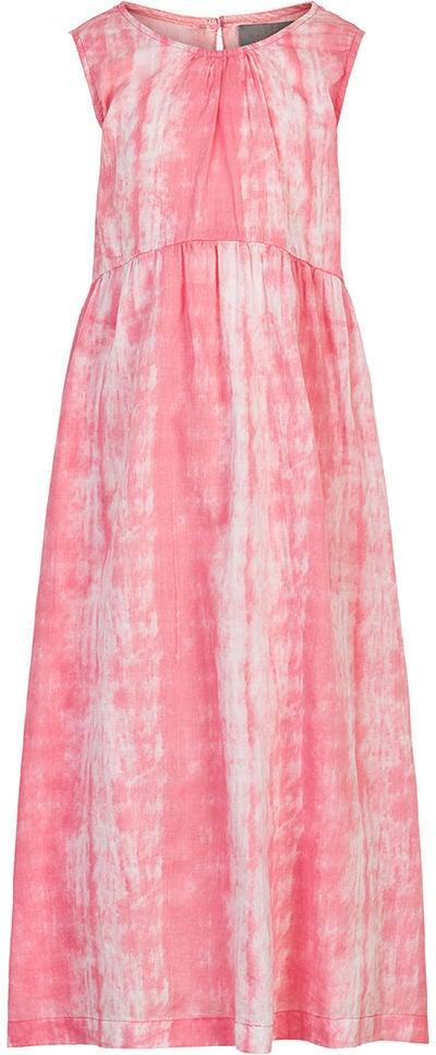 Creamie Tie Dye Klänning, Pink Icing, 104