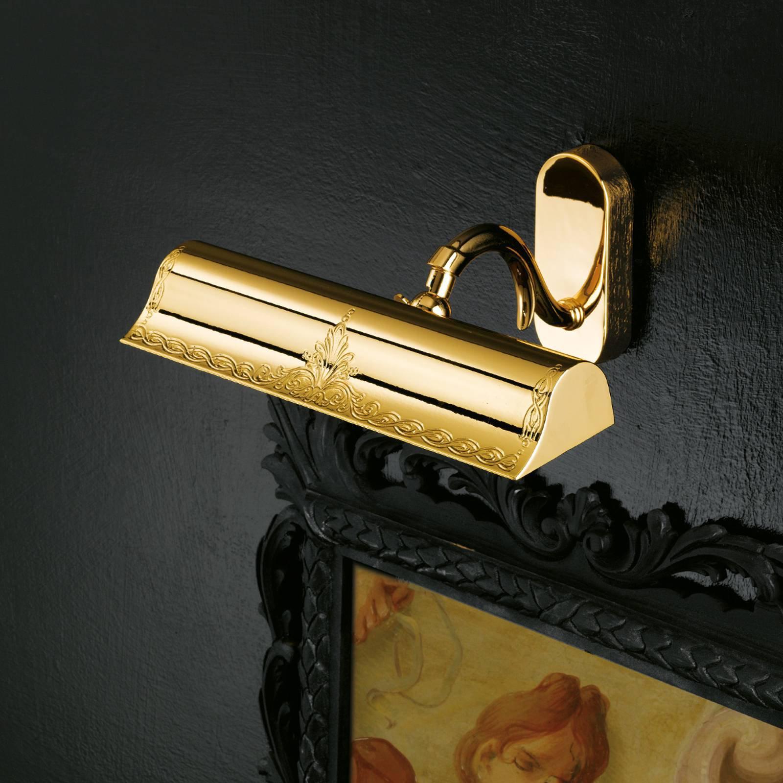 Gull skinnende billedlys Lysanna