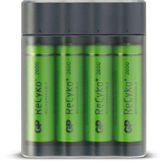 GP Batterier Charge AnyWay GPX412 Batterilader