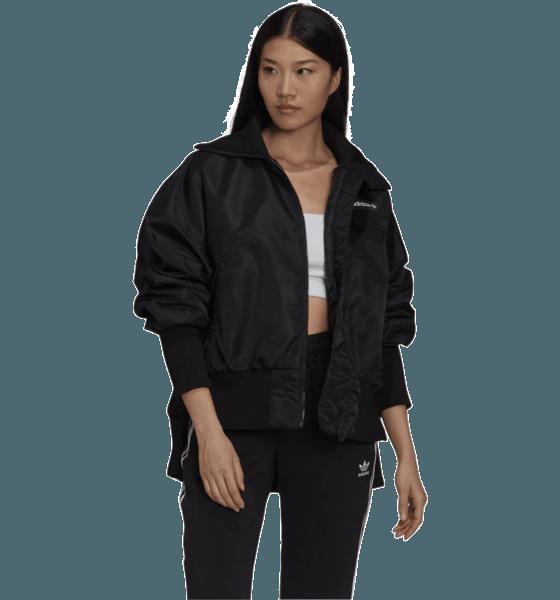 Adidas Originals W Rib Bomber Jackor BLACK