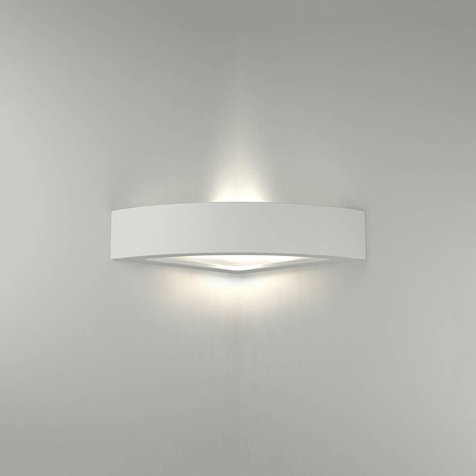 LED-vegglampe 8056 kantet 3 000 K kan ikke dimmes