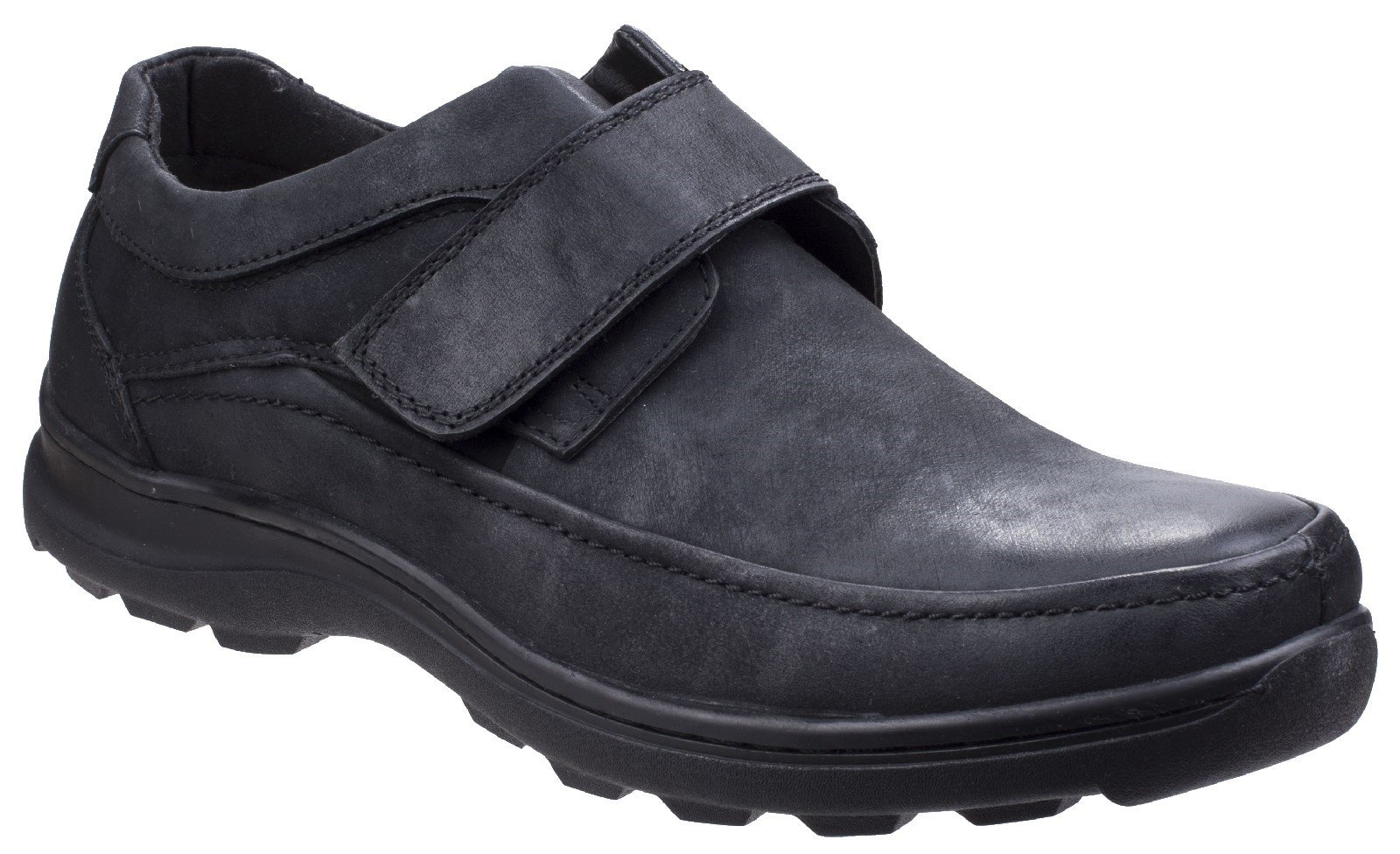 Fleet & Foster Men's Hurghada Fastening Shoe Various Colours 26314-43923 - Black 7