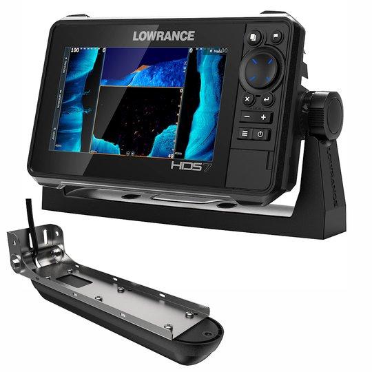 "Lowrance HDS Live 7"" kombienhet med Active Imaging 3 in 1 givare"
