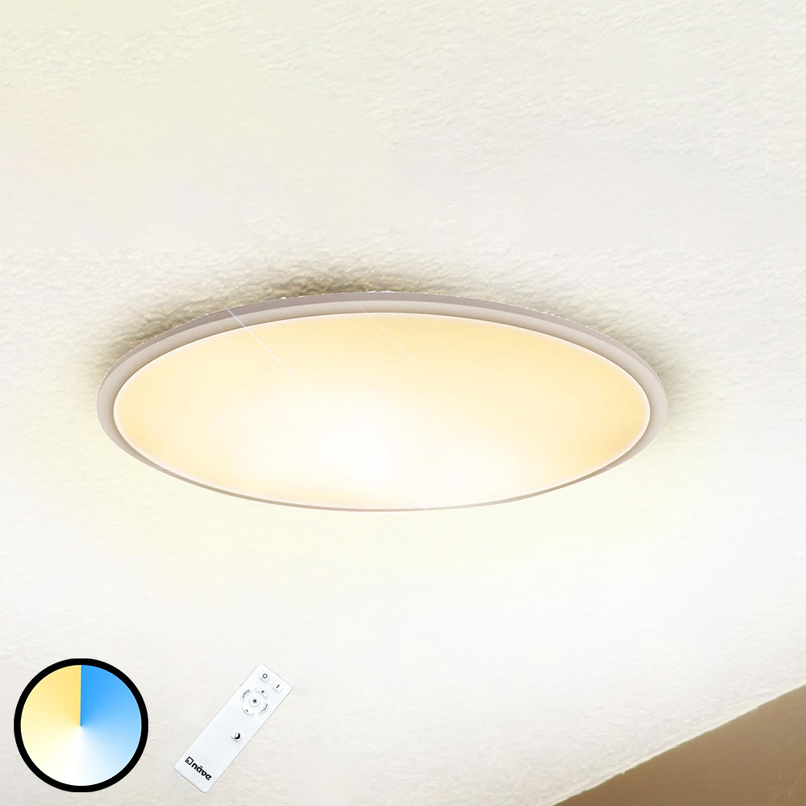 LED-kattovalaisin Sorrent, soikea 60 cm x 30 cm