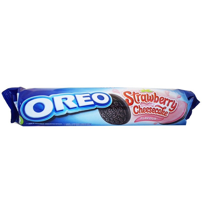 Strawberry & Cheesecake Keksit - 25% alennus