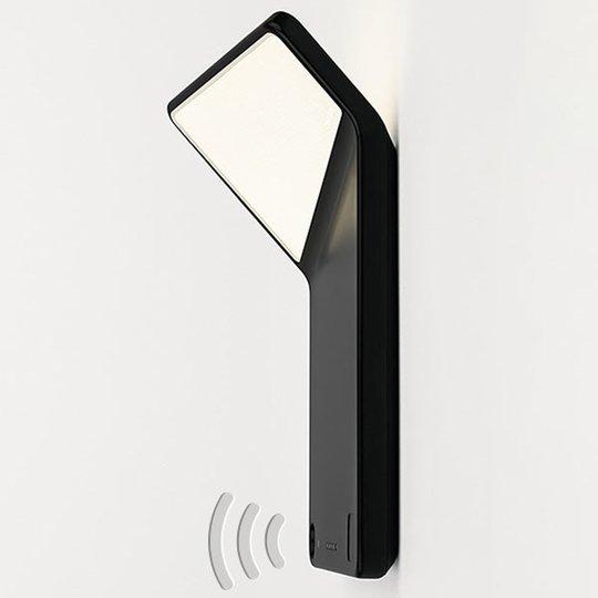 Nimbus Winglet CL LED-seinävalaisin, mattamusta