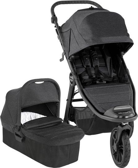 Baby Jogger City Elite 2 Duovogn, Granite