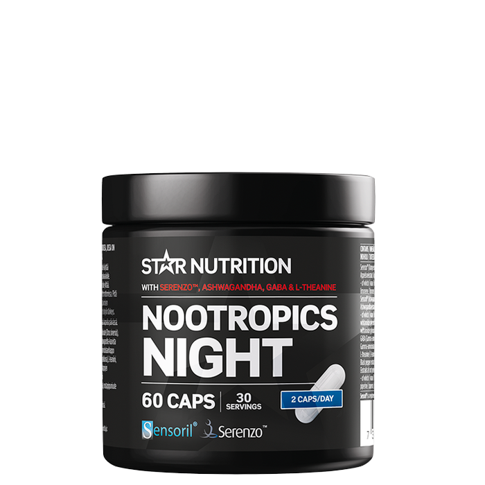Nootropics Night, 60 caps