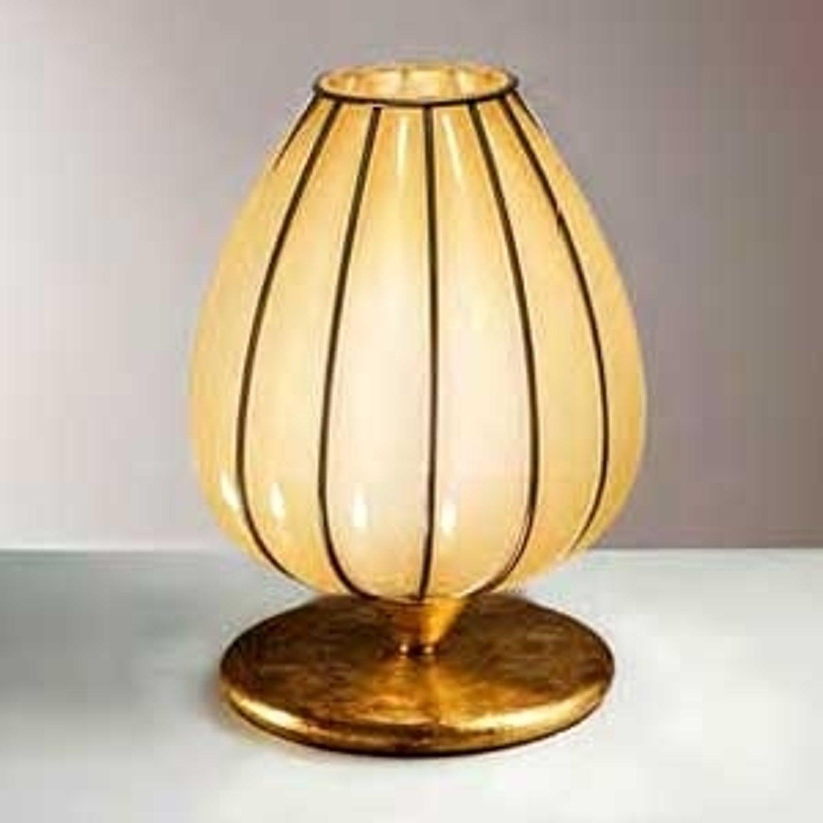 Håndlaget bordlampe GEMMA