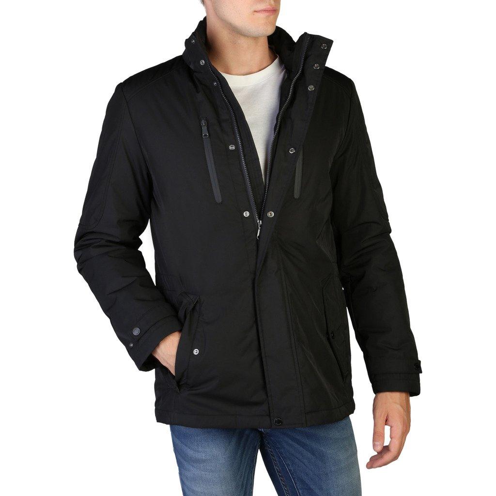 Geox Men's Jacket Black M9420VT2585 - black 48