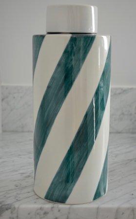 Flow keramikkboks – Celadon, large
