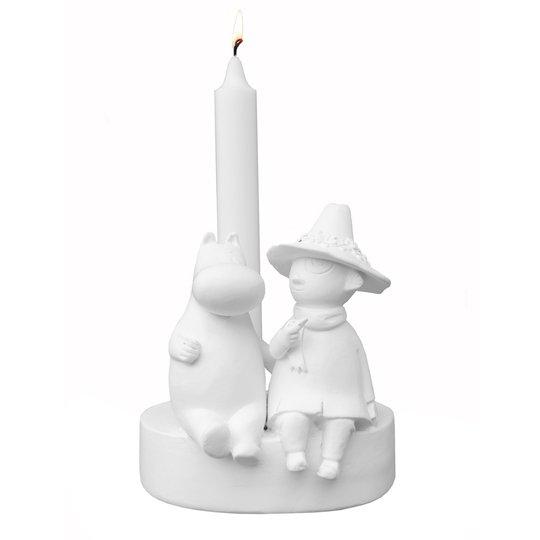 Mitt & ditt - Mumin Ljusstake Vänskap 13 cm