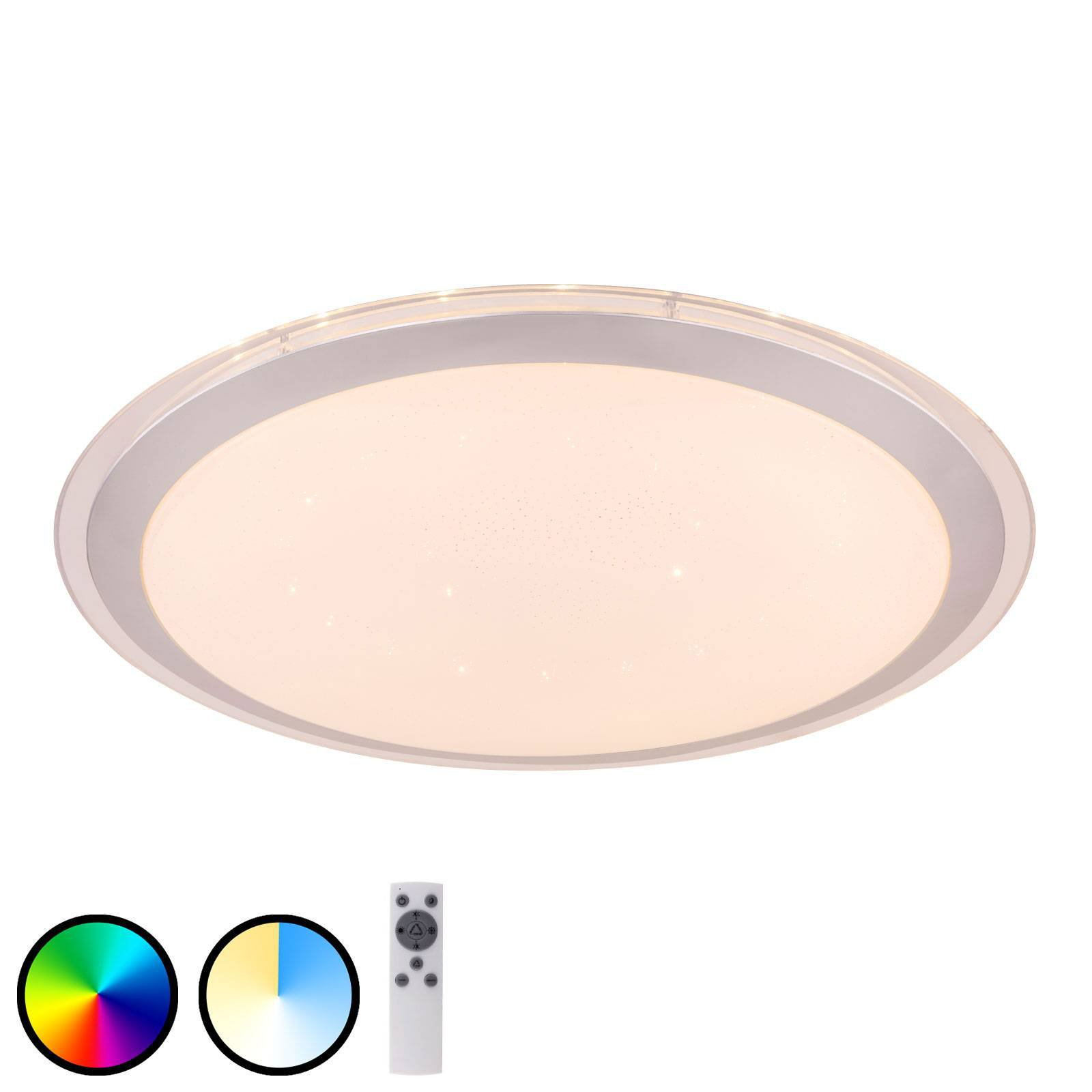 LED-taklampe Carry Tuya-Smart, RGBW CCT