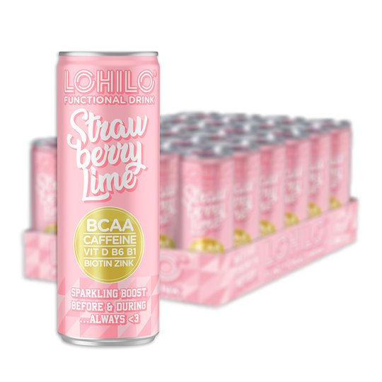 Funktionsdryck Strawberry Lime 24-pack - 47% rabatt