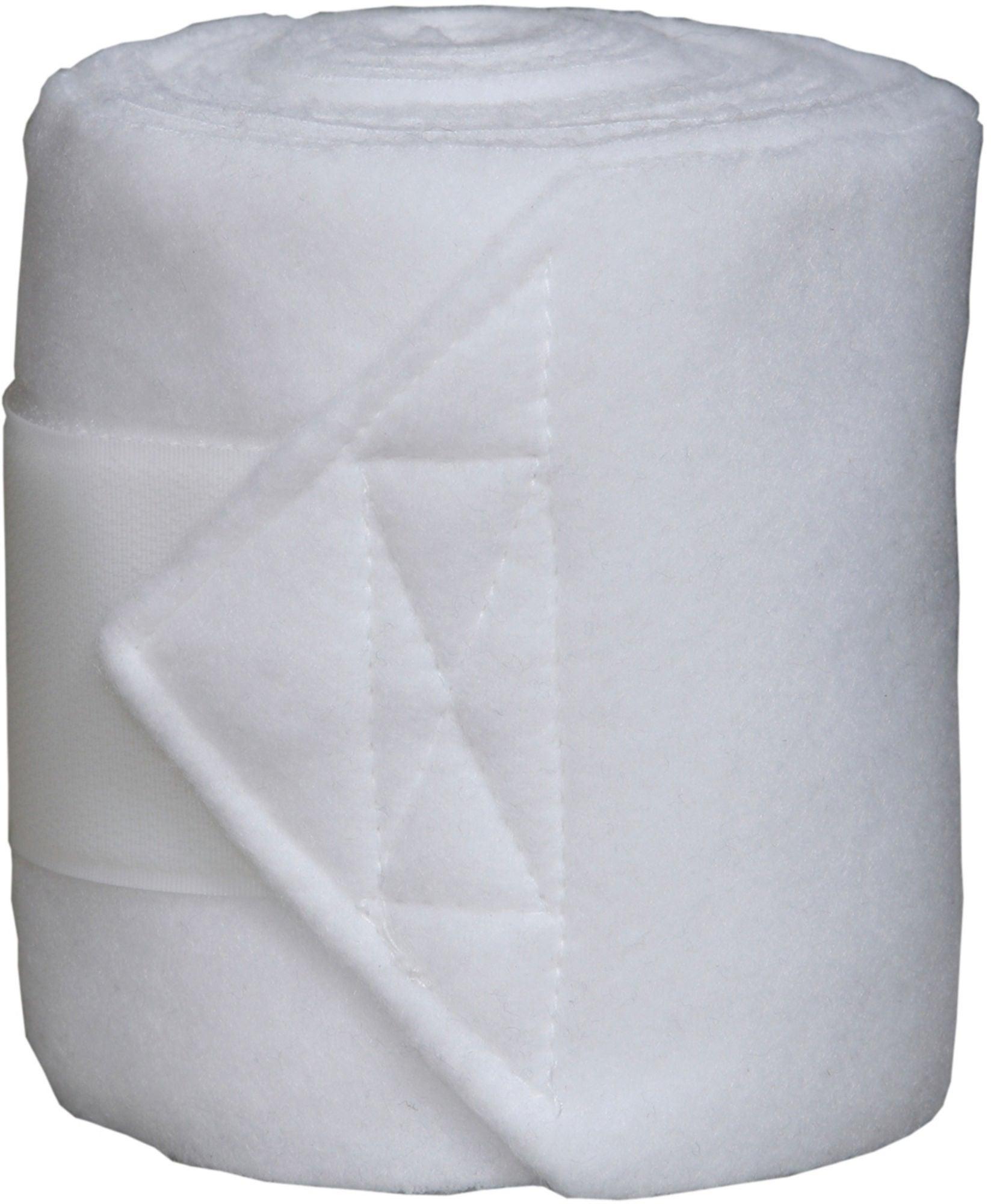 Jacson Fleecebandage 4-Pack, Vit
