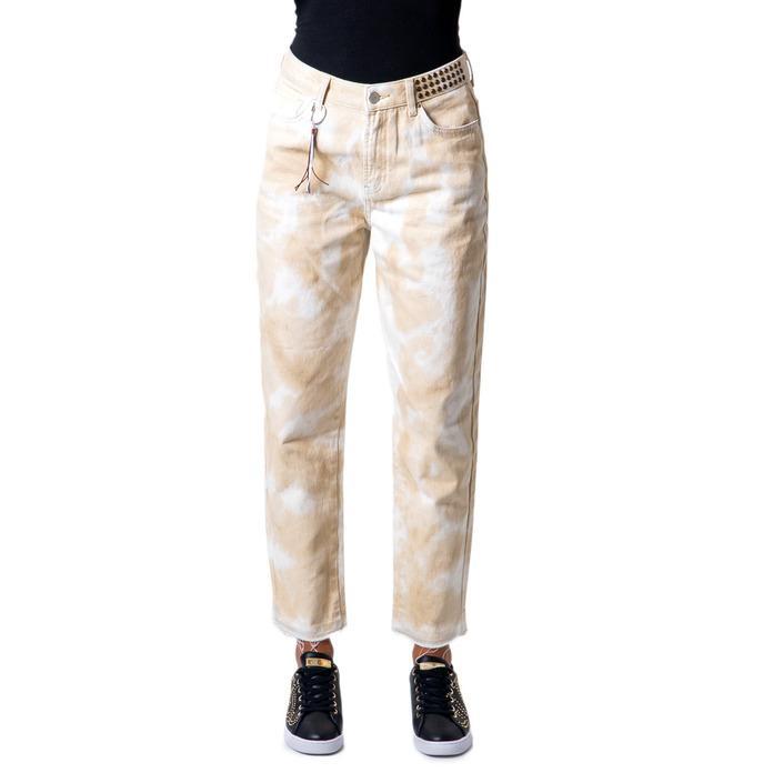 Desigual Women's Trouser Beige 176878 - beige 38