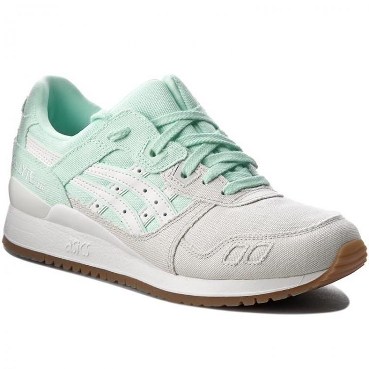 ASICS Women's Gel Lyte III Trainers Grey Mint 8718833971238 - 4 UK Grey Mint