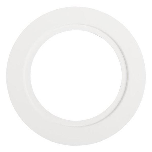 Hide-a-Lite 130 Dekkring hvit Ø 85 mm