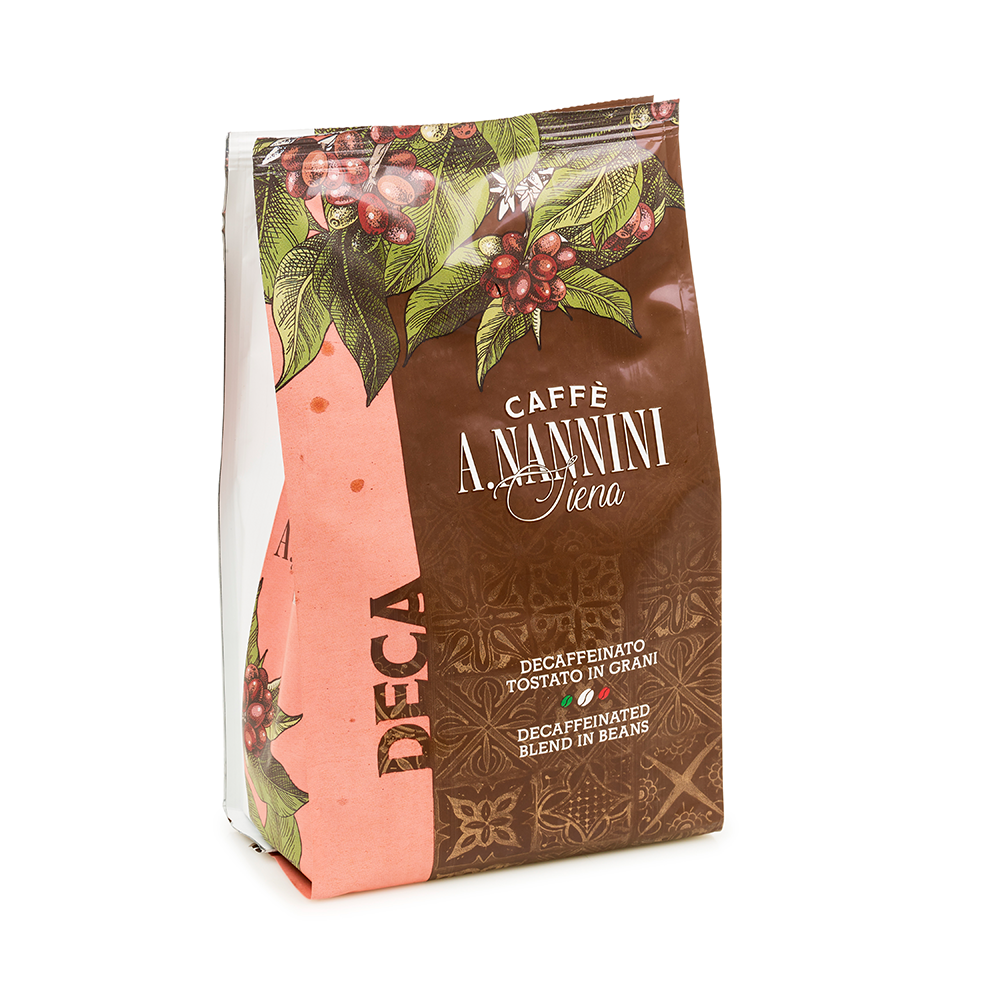 Decaffinated Coffee Beans 500g by Nannini