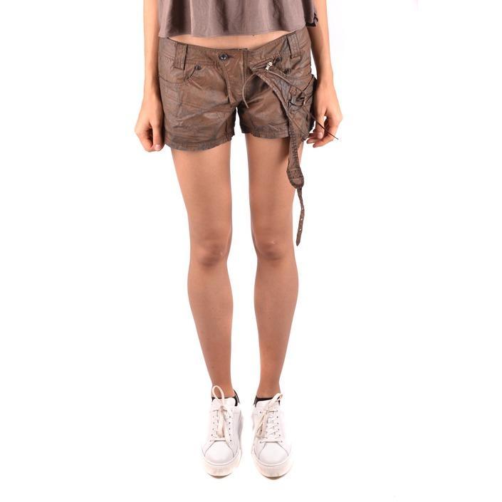 Daniele Alessandrini Women's Short Brown 187068 - brown 42