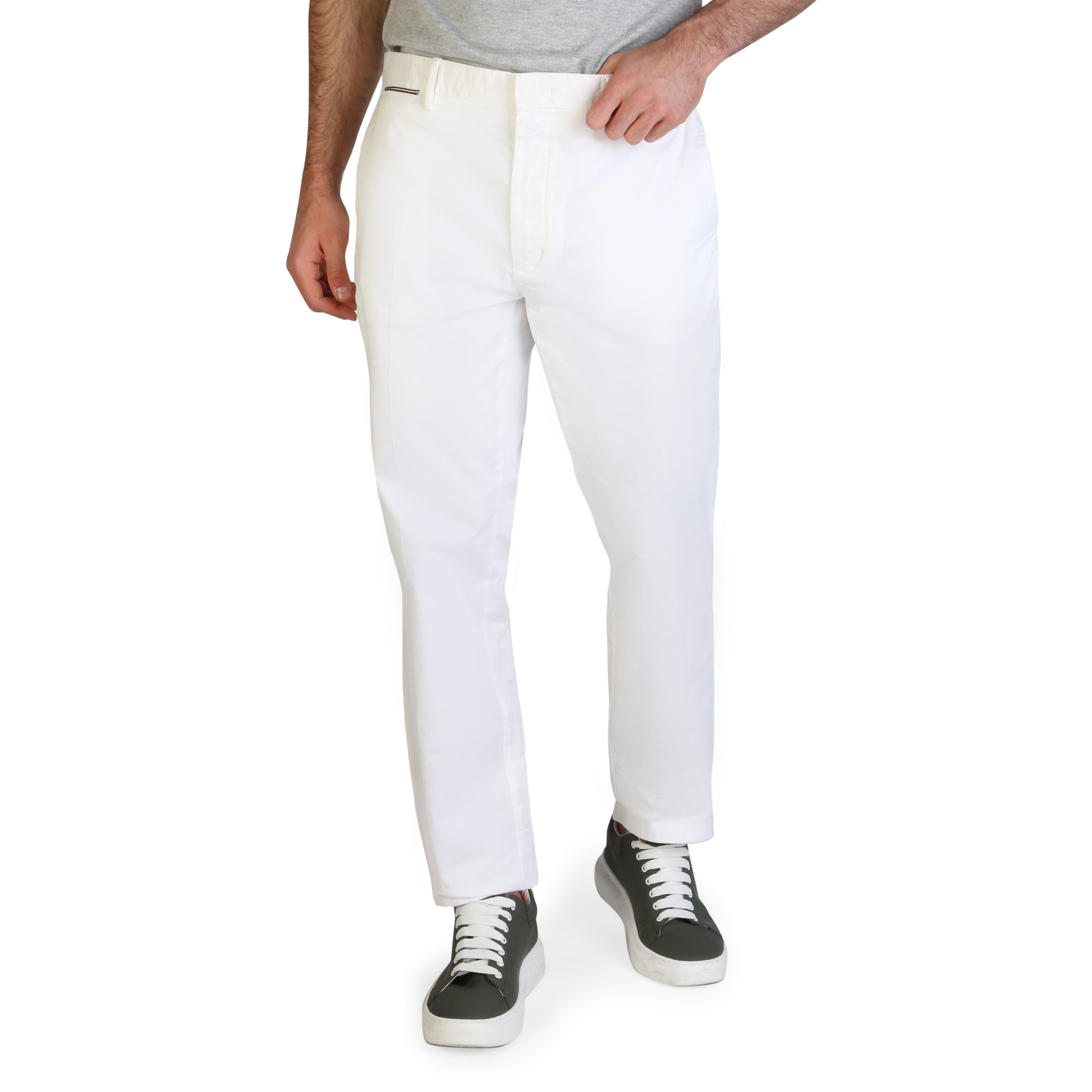 Tommy Hilfiger Men's Trouser Various Colours MW0MW13299 - white 30