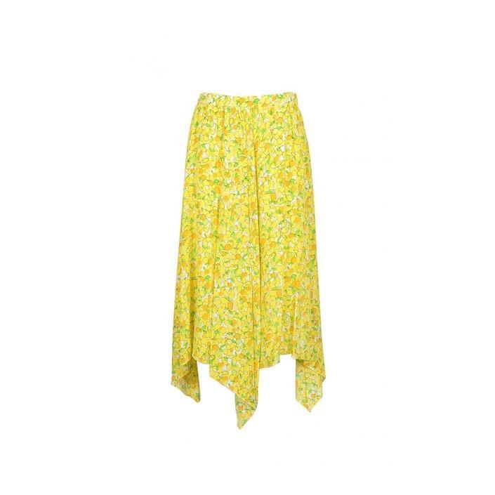 Boutique Moschino Women's Skirt Yellow 171936 - yellow 38
