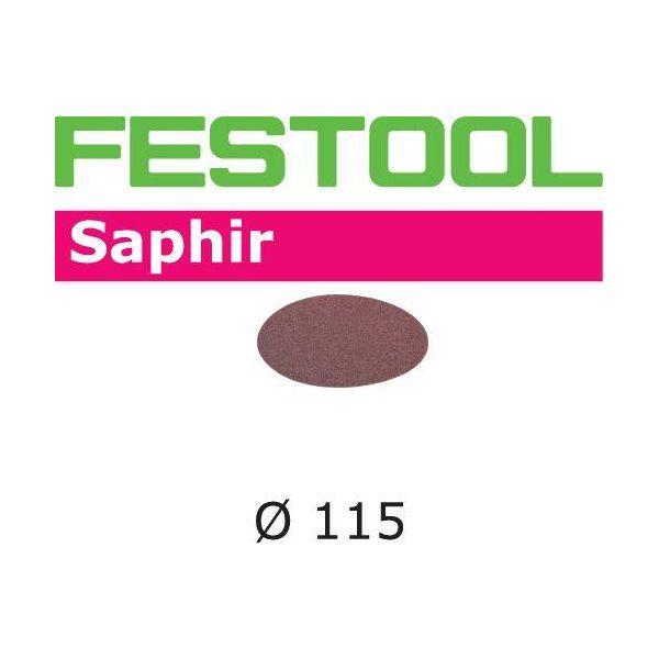 Festool STF SA Hiomapaperi 115 mm, 25 kpl P24