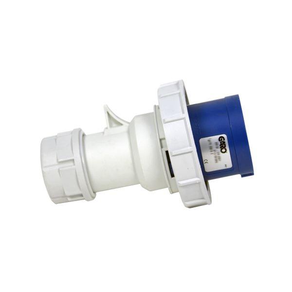 Garo PV 332-9 S Støpsel IP67, 3-polet, 32 A Blå, 9 h