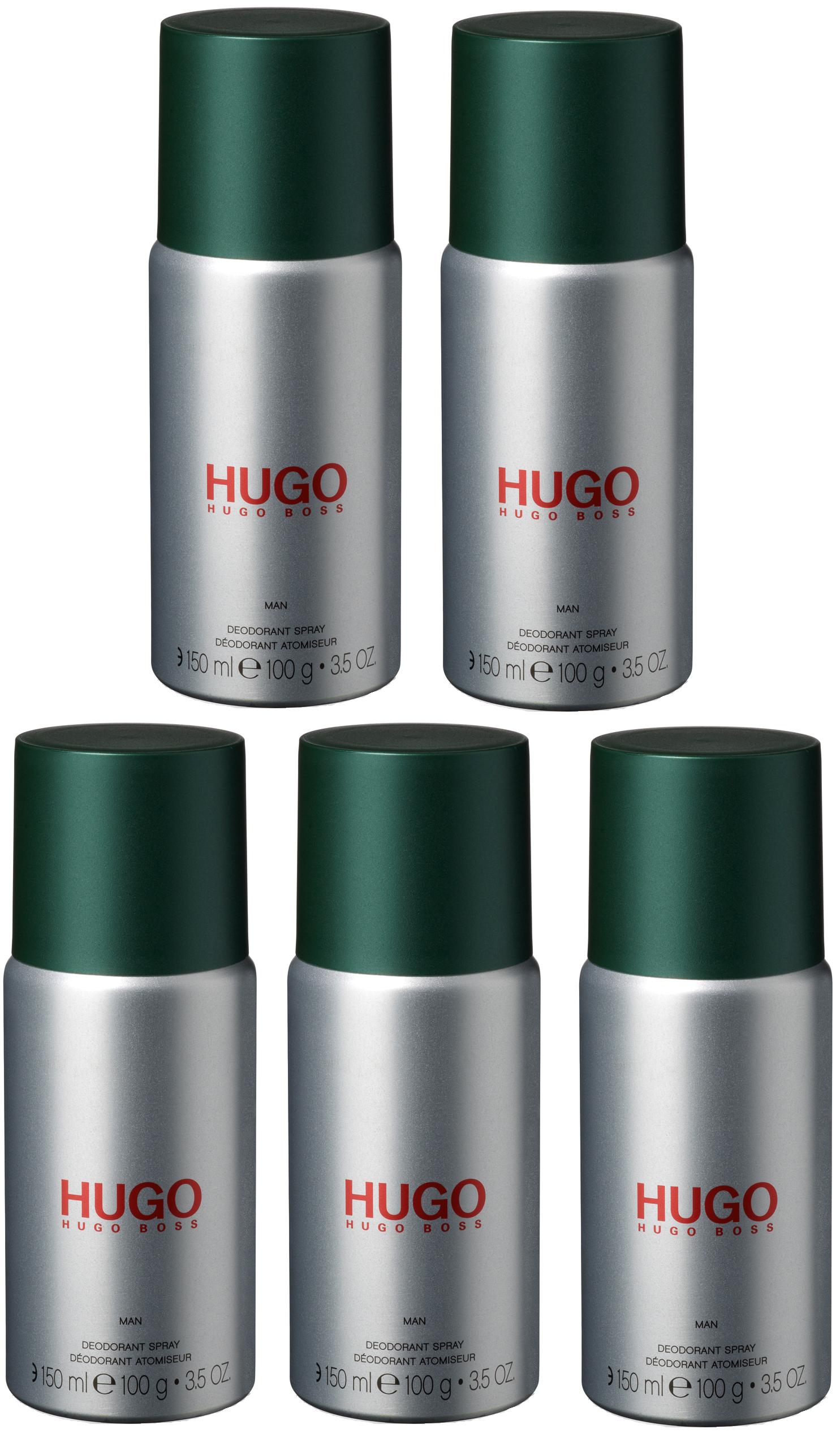 Hugo Boss - 5x Hugo Man Deodorant Spray