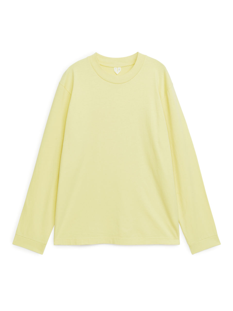 Long-Sleeved Organic Cotton T-Shirt - Yellow